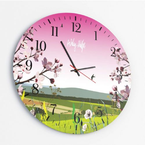 Glass Round Clocks